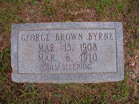 BYRNE, GEORGE BROWN - Union County, Arkansas | GEORGE BROWN BYRNE - Arkansas Gravestone Photos