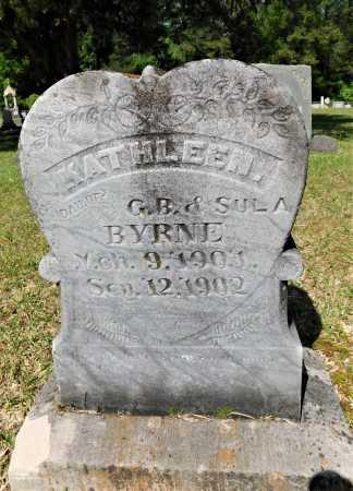 BYRNE, KATHLEEN - Union County, Arkansas | KATHLEEN BYRNE - Arkansas Gravestone Photos