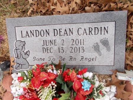 CARDIN, LANDON DEAN - Union County, Arkansas | LANDON DEAN CARDIN - Arkansas Gravestone Photos