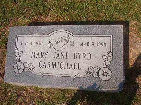 CARMICHAEL, MARY JANE - Union County, Arkansas | MARY JANE CARMICHAEL - Arkansas Gravestone Photos