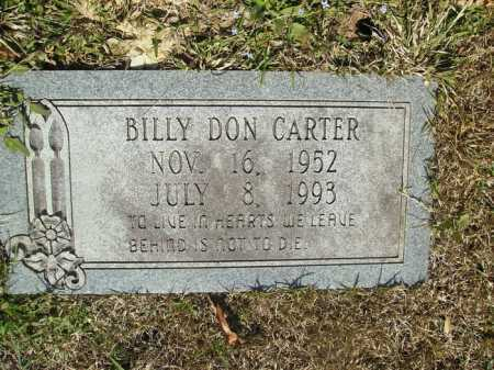 "CARTER, BILLY DON ""DUCK"" - Union County, Arkansas 