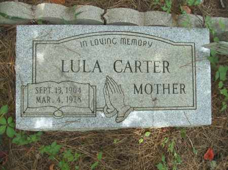 CARTER, LULA - Union County, Arkansas | LULA CARTER - Arkansas Gravestone Photos