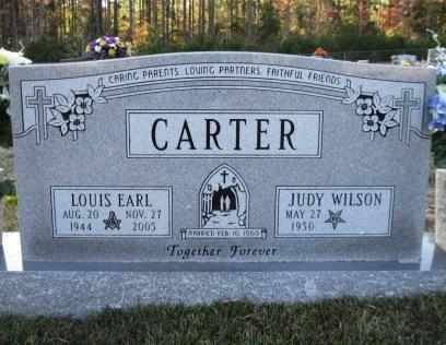 CARTER, LOUIS EARL - Union County, Arkansas | LOUIS EARL CARTER - Arkansas Gravestone Photos