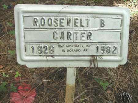 CARTER, ROOSEVELT B - Union County, Arkansas   ROOSEVELT B CARTER - Arkansas Gravestone Photos