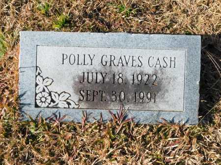 GRAVES CASH, POLLY - Union County, Arkansas | POLLY GRAVES CASH - Arkansas Gravestone Photos