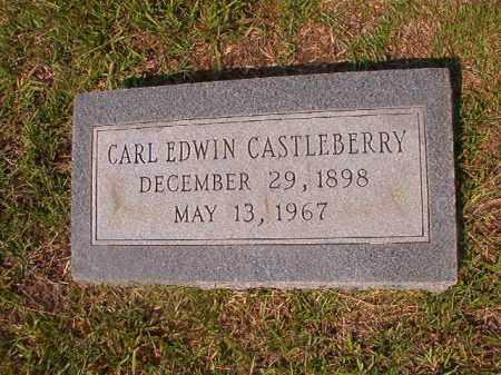 CASTLEBERRY, CARL EDWIN - Union County, Arkansas | CARL EDWIN CASTLEBERRY - Arkansas Gravestone Photos