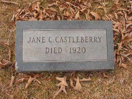 CASTLEBERRY, JANE C - Union County, Arkansas | JANE C CASTLEBERRY - Arkansas Gravestone Photos