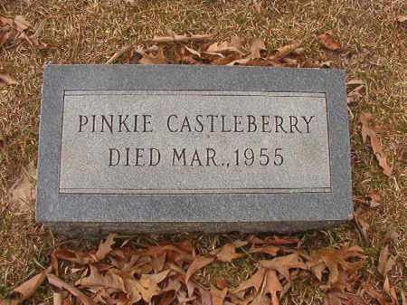 CASTLEBERRY, PINKIE - Union County, Arkansas | PINKIE CASTLEBERRY - Arkansas Gravestone Photos