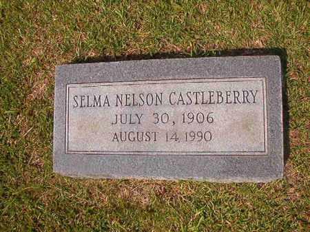 NELSON CASTLEBERRY, SELMA - Union County, Arkansas | SELMA NELSON CASTLEBERRY - Arkansas Gravestone Photos