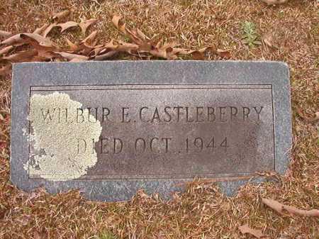 CASTLEBERRY, WILBUR E - Union County, Arkansas | WILBUR E CASTLEBERRY - Arkansas Gravestone Photos