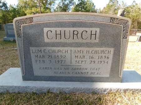 CHURCH, AMY H - Union County, Arkansas | AMY H CHURCH - Arkansas Gravestone Photos