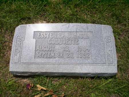 COLQUETTE, ESSYE LEA - Union County, Arkansas | ESSYE LEA COLQUETTE - Arkansas Gravestone Photos