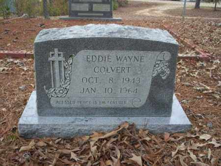 COLVERT, EDDIE WAYNE - Union County, Arkansas | EDDIE WAYNE COLVERT - Arkansas Gravestone Photos