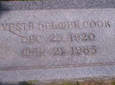 COOK, VESTA NELMER - Union County, Arkansas | VESTA NELMER COOK - Arkansas Gravestone Photos