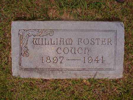 COUCH, WILLIAM FOSTER - Union County, Arkansas | WILLIAM FOSTER COUCH - Arkansas Gravestone Photos