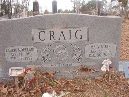 CRAIG, MARY - Union County, Arkansas | MARY CRAIG - Arkansas Gravestone Photos