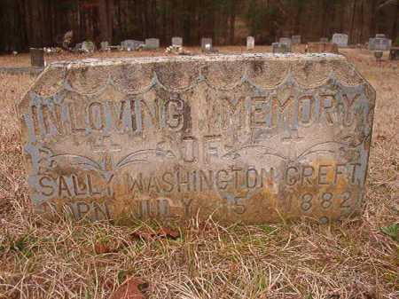 CREFT, SALLY - Union County, Arkansas | SALLY CREFT - Arkansas Gravestone Photos