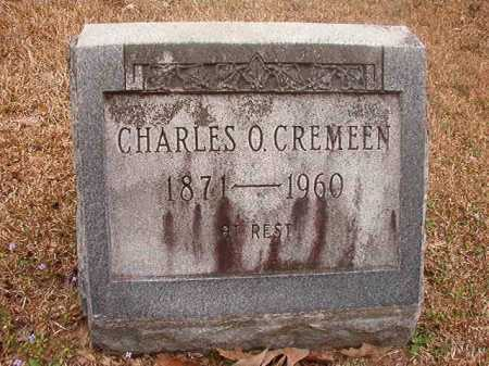 CREMEEN, CHARLES O - Union County, Arkansas   CHARLES O CREMEEN - Arkansas Gravestone Photos