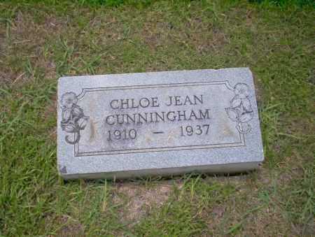 CUNNINGHAM, CHLOE JEAN - Union County, Arkansas   CHLOE JEAN CUNNINGHAM - Arkansas Gravestone Photos