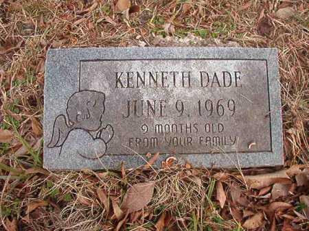 DADE, KENNETH - Union County, Arkansas | KENNETH DADE - Arkansas Gravestone Photos