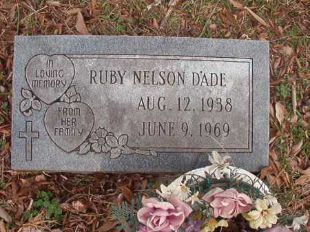 NELSON DADE, RUBY - Union County, Arkansas | RUBY NELSON DADE - Arkansas Gravestone Photos