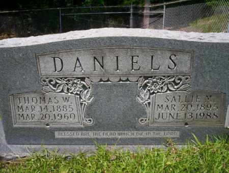 DANIELS, THOMAS W - Union County, Arkansas | THOMAS W DANIELS - Arkansas Gravestone Photos