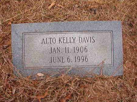 DAVIS, ALTO - Union County, Arkansas | ALTO DAVIS - Arkansas Gravestone Photos