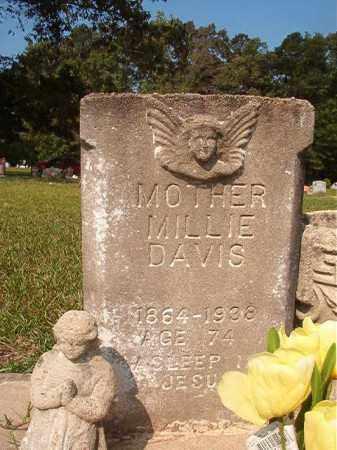 DAVIS, MILLIE - Union County, Arkansas   MILLIE DAVIS - Arkansas Gravestone Photos