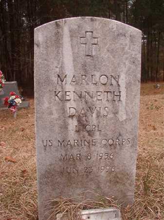 DAVIS (VETERAN), MARLON KENNETH - Union County, Arkansas | MARLON KENNETH DAVIS (VETERAN) - Arkansas Gravestone Photos