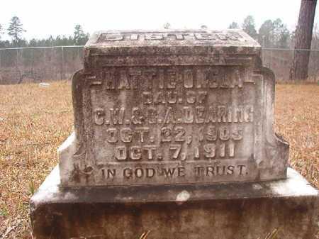 DEARING, HATTIE ONELA - Union County, Arkansas   HATTIE ONELA DEARING - Arkansas Gravestone Photos
