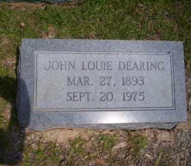 DEARING, JOHN LOUIE - Union County, Arkansas | JOHN LOUIE DEARING - Arkansas Gravestone Photos