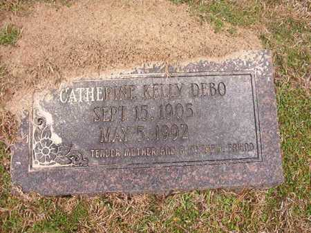 KELLY DEBO, CATHERINE - Union County, Arkansas | CATHERINE KELLY DEBO - Arkansas Gravestone Photos
