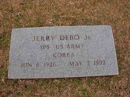 DEBO, JR (VETERAN KOR), JERRY - Union County, Arkansas | JERRY DEBO, JR (VETERAN KOR) - Arkansas Gravestone Photos