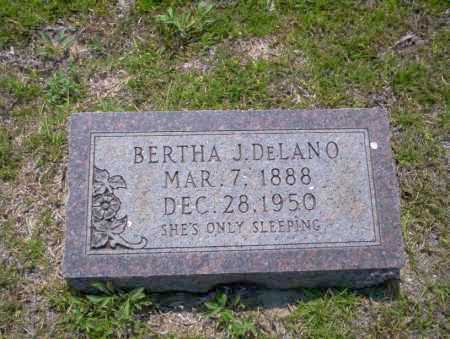 DELANO, BERTHA J - Union County, Arkansas | BERTHA J DELANO - Arkansas Gravestone Photos