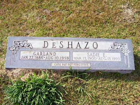 DESHAZO, SADIE E - Union County, Arkansas | SADIE E DESHAZO - Arkansas Gravestone Photos
