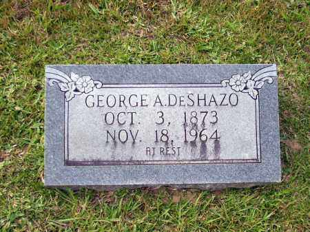 DESHAZO, GEORGE A. - Union County, Arkansas | GEORGE A. DESHAZO - Arkansas Gravestone Photos