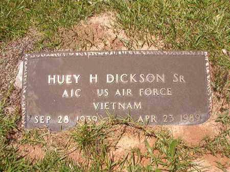 DICKSON, SR (VETERAN VIET), HUEY H - Union County, Arkansas   HUEY H DICKSON, SR (VETERAN VIET) - Arkansas Gravestone Photos