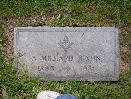 DIXON, A. MLLARD - Union County, Arkansas | A. MLLARD DIXON - Arkansas Gravestone Photos
