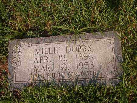 DOBBS, MILLIE - Union County, Arkansas | MILLIE DOBBS - Arkansas Gravestone Photos