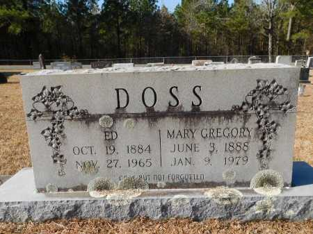 DOSS, ED - Union County, Arkansas | ED DOSS - Arkansas Gravestone Photos