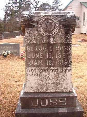 DOSS, GEORGE C - Union County, Arkansas   GEORGE C DOSS - Arkansas Gravestone Photos