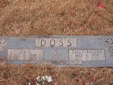 ROGERS DOSS, SALLY - Union County, Arkansas | SALLY ROGERS DOSS - Arkansas Gravestone Photos