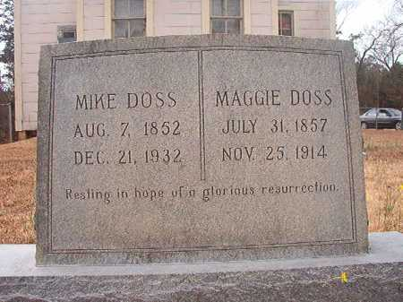 DOSS, MIKE - Union County, Arkansas | MIKE DOSS - Arkansas Gravestone Photos