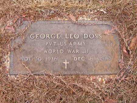 DOSS (VETERAN WWII), GEORGE LEO - Union County, Arkansas | GEORGE LEO DOSS (VETERAN WWII) - Arkansas Gravestone Photos