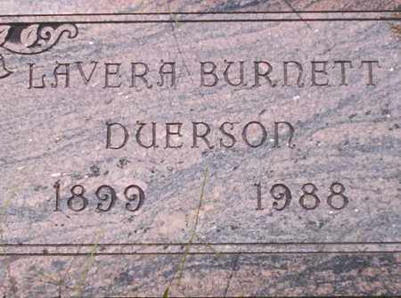 DUERSON, LAVERA - Union County, Arkansas | LAVERA DUERSON - Arkansas Gravestone Photos