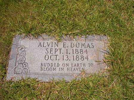 DUMAS, ALVIN E - Union County, Arkansas   ALVIN E DUMAS - Arkansas Gravestone Photos