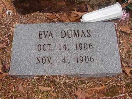 DUMAS, EVA - Union County, Arkansas   EVA DUMAS - Arkansas Gravestone Photos