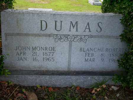 DUMAS, BLANCHE - Union County, Arkansas | BLANCHE DUMAS - Arkansas Gravestone Photos