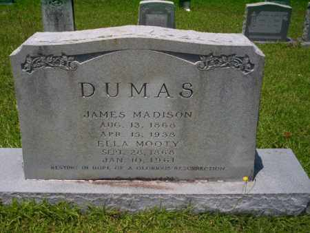MOOTY DUMAS, ELLA ROSETTA - Union County, Arkansas | ELLA ROSETTA MOOTY DUMAS - Arkansas Gravestone Photos