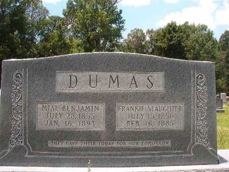 DUMAS, FRANKIE - Union County, Arkansas | FRANKIE DUMAS - Arkansas Gravestone Photos